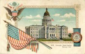 THE STATE CAPITOL OF COLORADO